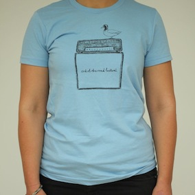Duck Ladies T-Shirt - Baby Blue