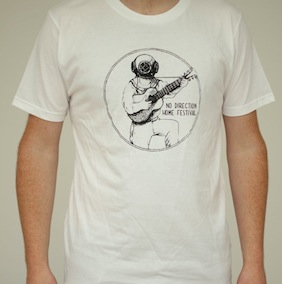 Woody Guthrie Mens T-Shirt - White