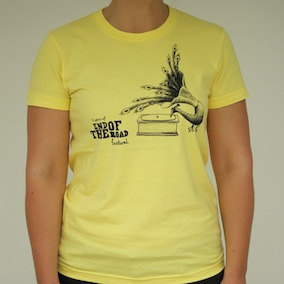 5yr Peacock Ladies T-shirt - Lemon