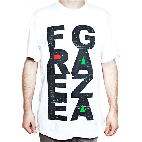 Free Gaza [White] - Mens