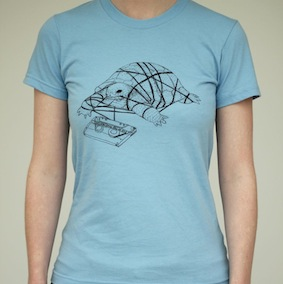 Tortoise Ladies T-Shirt - Baby Blue