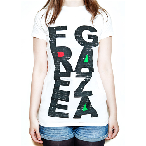 Free Gaza [White] - Ladies
