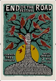 2011 Festival Poster by Chris Hopewell