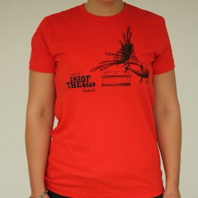 5yr Peacock Ladies T-Shirt - Poppy Red