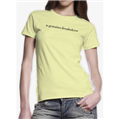 Scribble Logo Women's T-Shirt - Yellow