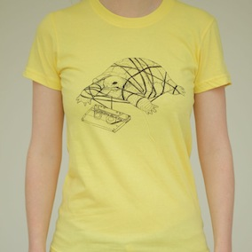 Tortoise Ladies T-Shirt - Lemon