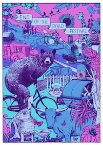 2011 Festival Poster by Kai Wong (night time)