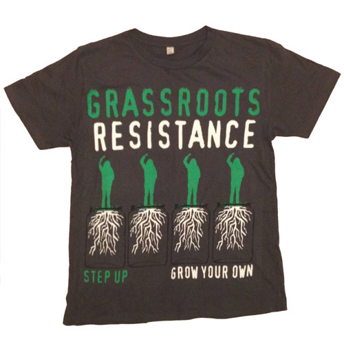 Grassroots T-Shirt [Dark Grey] - Mens