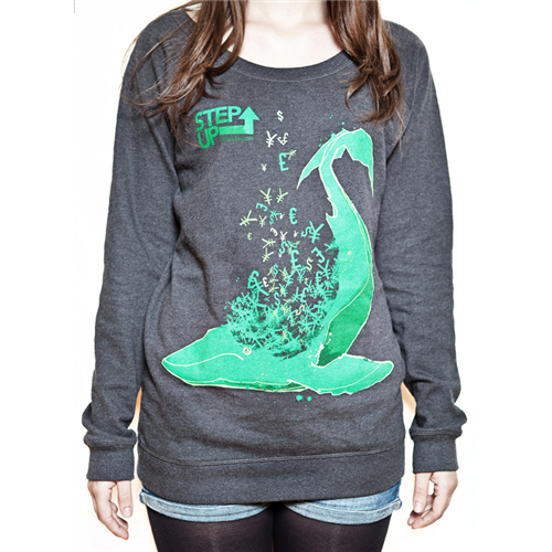 Whale Jumper [Dark Heather] - Ladies