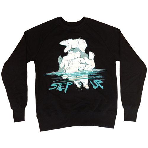 *Limited Edition* Polar Bear Jumper [Black] - Mens