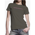Scribble Logo Women's T-Shirt - Olive