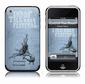 Festival iphone skin - Blue
