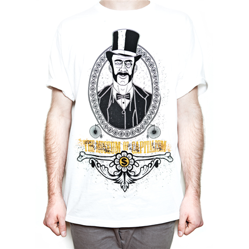 Museum Of Capitalism T-Shirt [White] - Mens