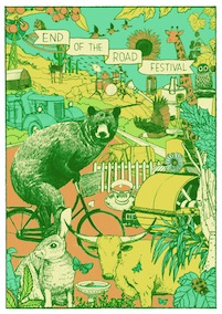 2011 Festival Poster by Kai Wong (day time)