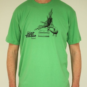 Peacock Mens T-Shirt - Grass Green