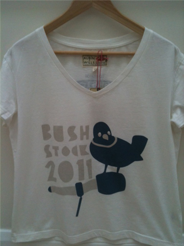Limited Edition Bushstock 2011 T Shirt (Womens)
