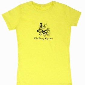 The Young Republic Ladies T-Shirt - Yellow