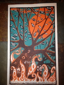 2008 Festival Poster by Chris Hopewell