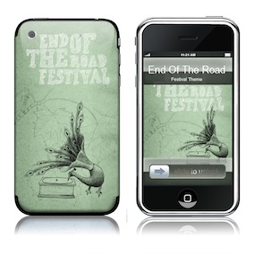 Festival iphone skin - Green