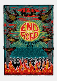 2012 Festival Poster by Chris Hopewell
