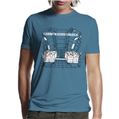 Oftentimes Escalators T-Shirt - Aqua