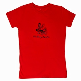 The Young Republic Ladies T-Shirt - Red
